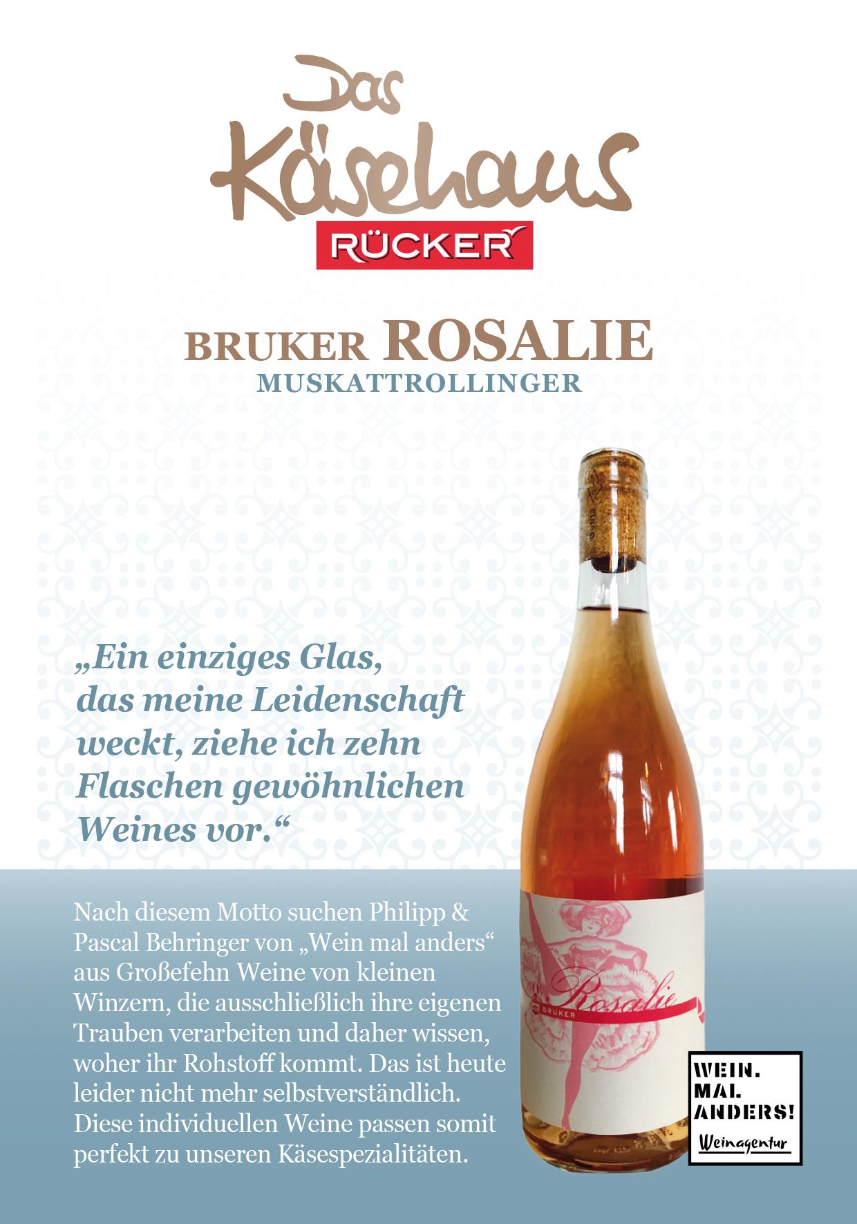 BRUKER Rosalie - Muskattrollinger