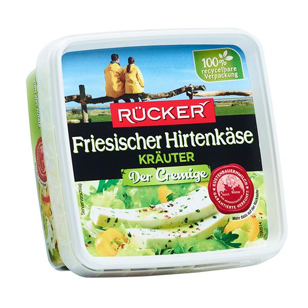 RÜCKER Friesischer Hirtenkäse Der Cremige Kräuter